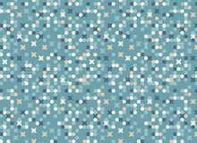 Art Gallery Legacy Genealogy Cotton Fabric Azul