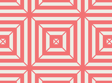 Art Gallery Minimalista Optical Maze Watermelon
