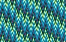 Art Gallery Rhapsodia Weaving Zig Zag Azul