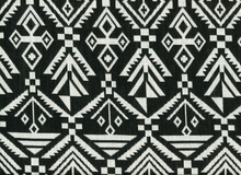 Aslan Jacquard Fabric Black
