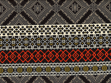 Aztec Ponte Black and White