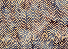 Bali Chevron Batik Cotton Dune