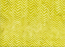 Bali Chevron Batik Cotton Key Lime