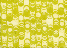 Bali Scalloped Cotton Batik Key Lime