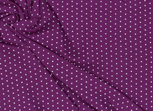 Bamboo Dot Knit Purple