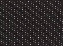 Bamboo Knit Fabric Dots in Black