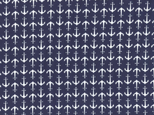 Banner Anchors Knit Navy