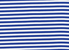 Basic Stripe Bamboo Knit Fabric Blue and White
