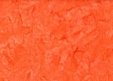 Batik Prisma Dyes Cotton Orange