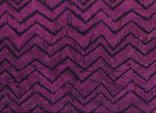 Batik Zig Zag Chevron Potion Cotton Maroon