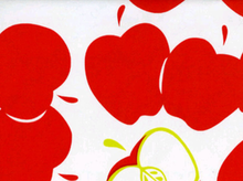 Big Apple Oilcloth Red