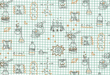 Birch Robotic Graph Paper Organic Cotton