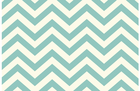 Birch Skinny Chevron Organic Cotton Knit Pool