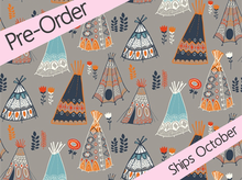 Birch Wild Land Organic Cotton Teepees Shroom