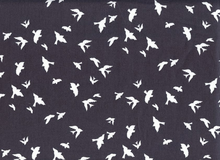 Birds in Flight Cotton Charcoal