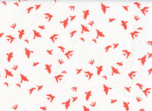 Birds in Flight Cotton Clementine