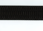 "Black 2 1/4"" Ripple Waistband Elastic"