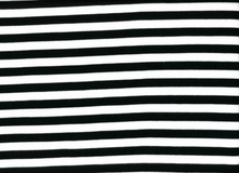 Black and White Stripe Ponte