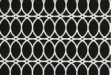 Black Home D�cor Fabric