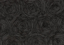 Black Rose Taffita Fabric