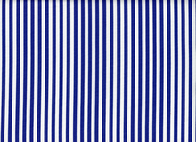 Blue and White Striped Cotton