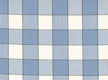 Blue Checkered Moda Toweling Fabric