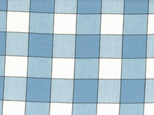 Buffalo Check Toweling Blue