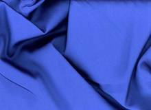 Blue Tahari Satin Fabric