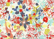 Botanica Tundra Flower Cotton Earthbright