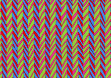 Brandon Mably for Rowan Fabrics Herringbone Stripe Cotton Fabric Lime