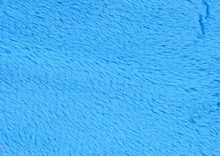 Bright Blue Minky Solid