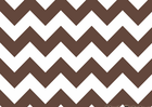 Brown Chevron Stripe Cotton Fabric