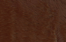 Brown Faux Shag Fur