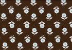 SALE Brown Floral Japanese Import Fabric
