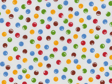 Candy Dot Cotton White