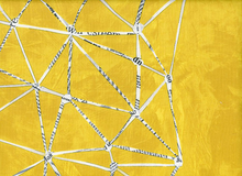 Carrie Bloomston Story Constellation Cotton Mustard