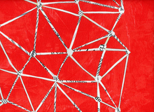 Carrie Bloomston Story Constellation Cotton Red