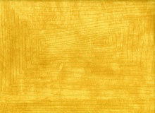 Carrie Bloomston Story Scratch Cotton Mustard