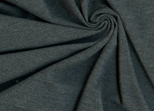 Charcoal 320 Ponte Knit Fabric