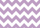 Chevron Cotton Fabric Lavender
