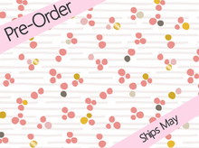 Cloud 9 Aubade Dew Pearled Organic Cotton Pink