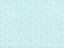 Cloud9 Hatchmarks Organic Knit Turquoise