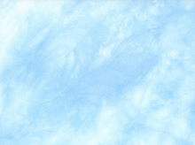 Clouds Rayon Blue