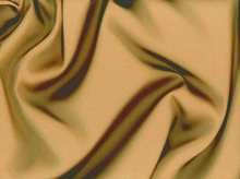 Copper Tahari Satin Fabric