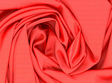 Coral Tahari Satin Fabric