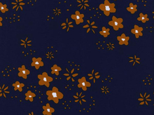 Cotton and Steel Alexia Abegg Clover Floral Medow Rayon Copper