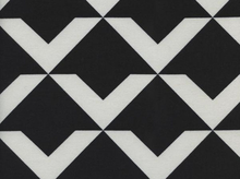 Cotton and Steel Black and White Up & Up Cotton Fabric in Black by Rashida Coleman-Hale