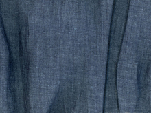 Cotton Linen Chambray 5oz Fabric Indigo Wash