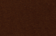 Cotton Poly Knit Ribbing Fabric Brown
