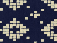 Cotton & Steel Alexia Abegg Mesa Canvas Tile Indigo
